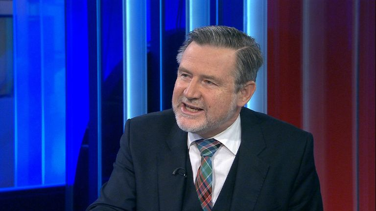 Shadow Secretary of State for International Trade Barry Gardiner