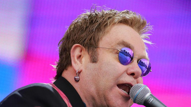 The plot may have been targeting an Elton John concert