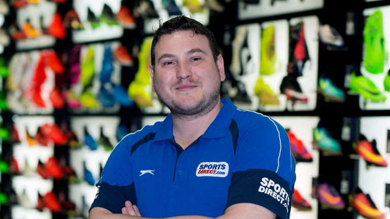Alex Balacki does not get to become a director of Sports Direct