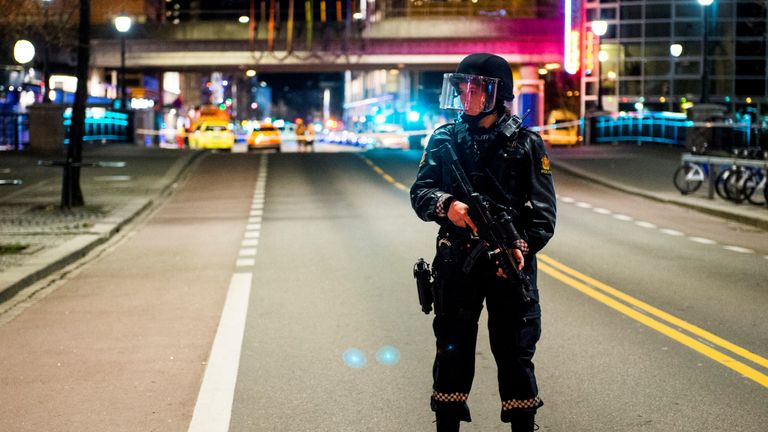 Norway was put on high alert following the truck attack in neighbouring Sweden