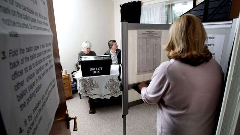 Voters are set to go to the polls on 8 June