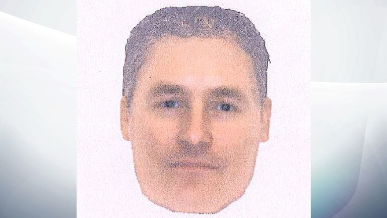 E-fit image issued by the Met Police believed by detectives to be of the same man seen in the Portuguese town of Praia da Luz at the time of Madeleine McCann's disappearance