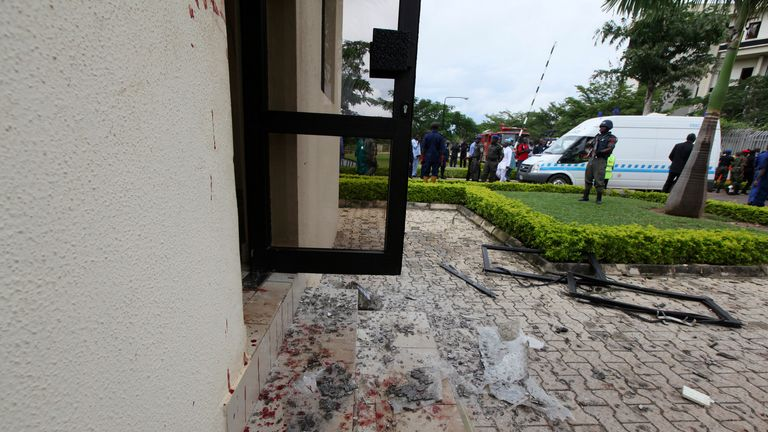 A Boko Haram car bomb killed 21 people at a UN office in Abuja in August 2011