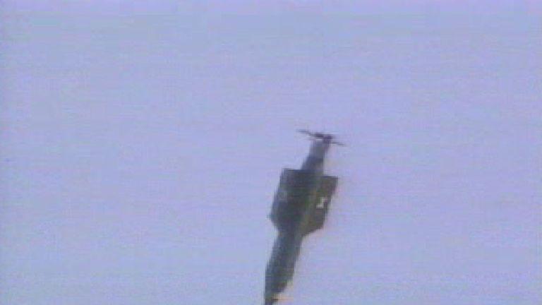 File pic: A GBU-43/B bomb seen in 2003