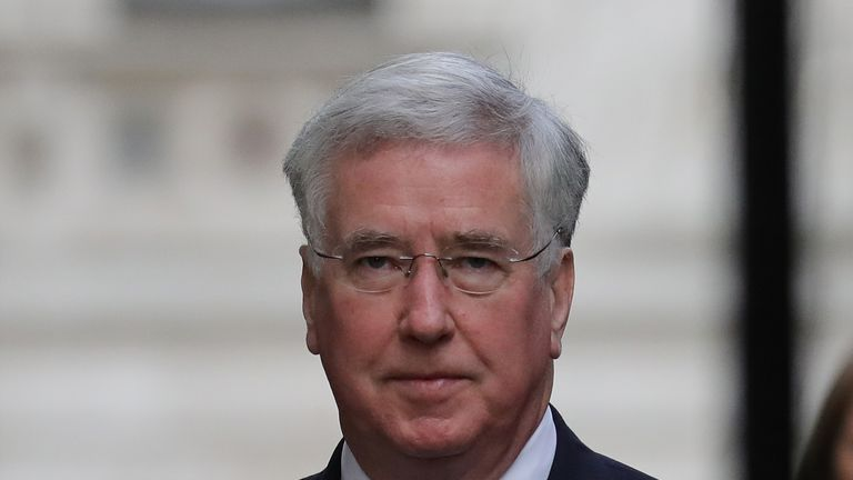 Sir Michael Fallon, UK Defence Secretary