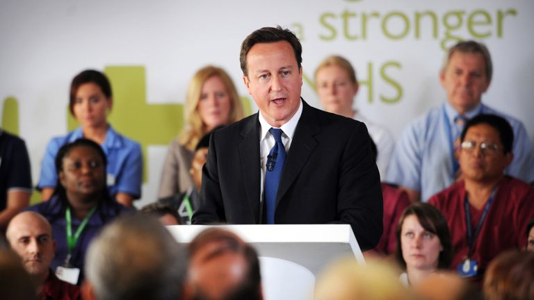 Former prime minister David Cameron set up the CDF scheme in 2010