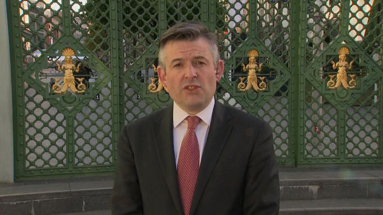 Shadow health secretary Jon Ashworth