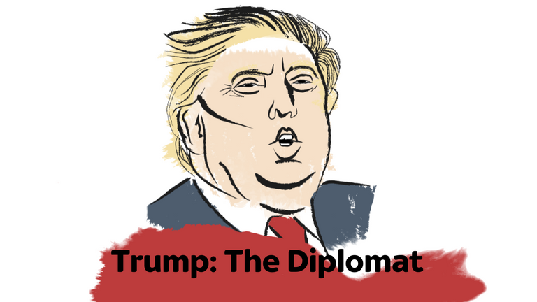 Donald Trump has been a disruptive presence on the world stage.