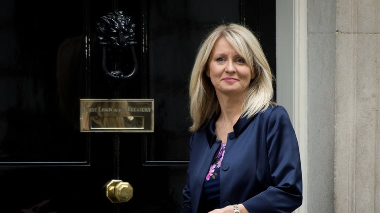 Esther McVey lost her Wirral West seat to Labour in 2015
