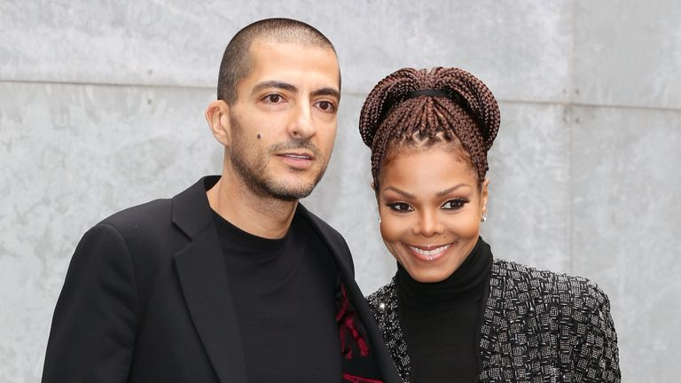 Janet Jackson and Wissam al Mana in Milan in 2013