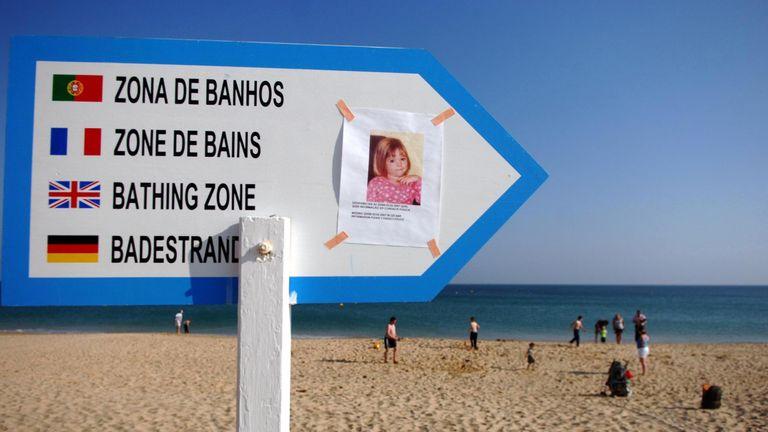 Beach at Praia da Luz