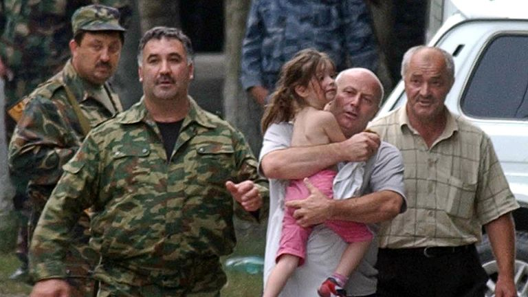 The siege in Beslan on 2 September 2004