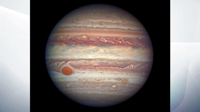The 'Great Red Spot' is Jupiter's best known feature