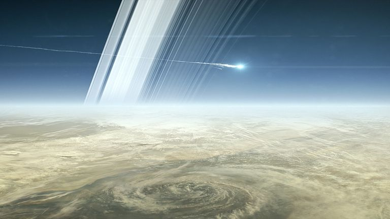 Cassini will plunge into Saturn in September and break up