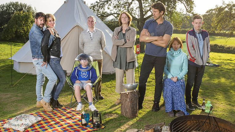 Sky Atlantic's Camping is nominated for best scripted comedy