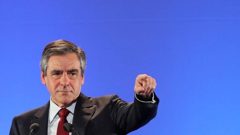 Francois Fillon has seen his support drop since a scandal broke