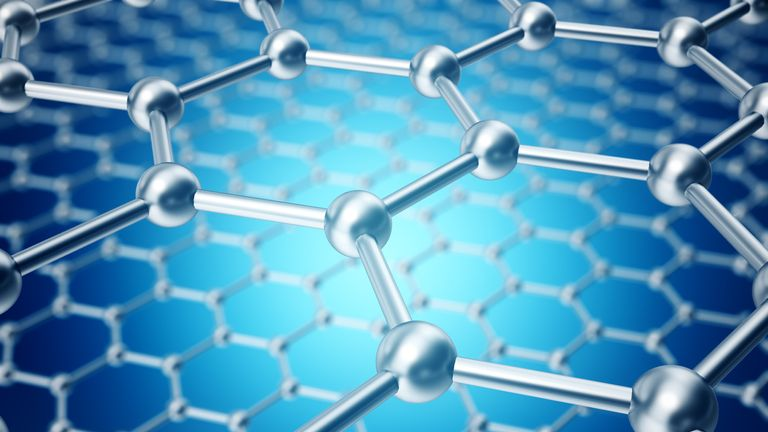 Graphene is just one atom thick and 200 times stronger than steel