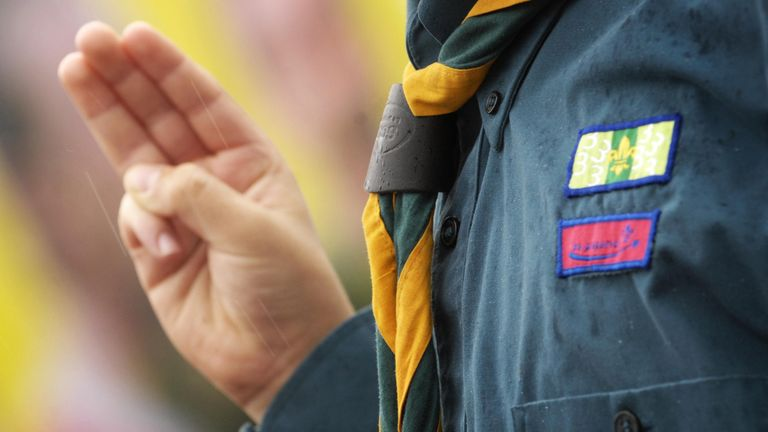More than 457,000 young people are currently involved in Scouts across the UK