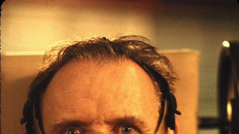 Anthony Hopkins in Silence Of The Lambs
