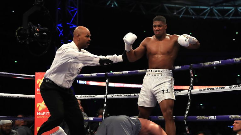 Anthony Joshua has beaten Wladimir Klitschko at Wembley