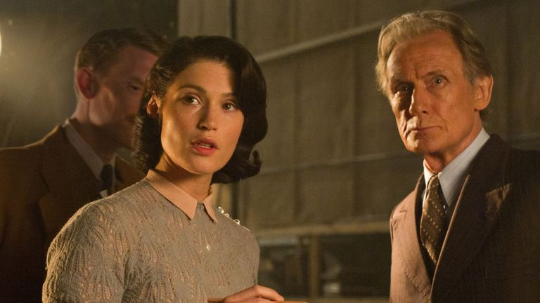 Arterton stars alongside Bill Nighy in the World War II drama