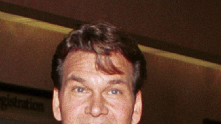 Patrick Swayze in 1999