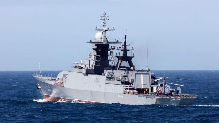 Steregushchiy-class corvette Boiky