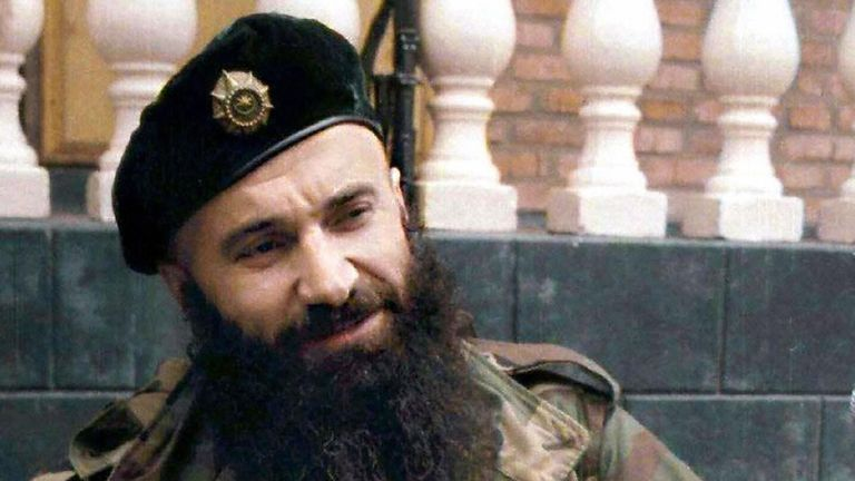 Chechen warlord Shamil Basayev, who claimed responsibility for the deadly school hostage taking