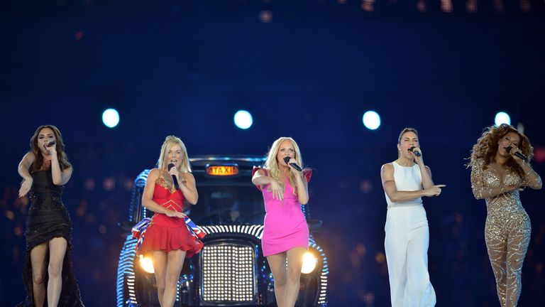 The Spice Girls last performed together at the closing ceremony of the London 2012 Olympics