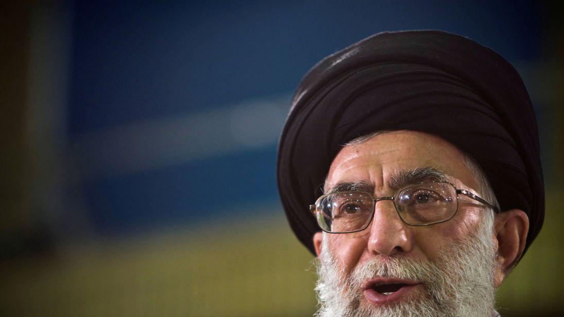 Ayatollah Ali Khamenei has warned Saudi Arabia's rulers face 'certain downfall'