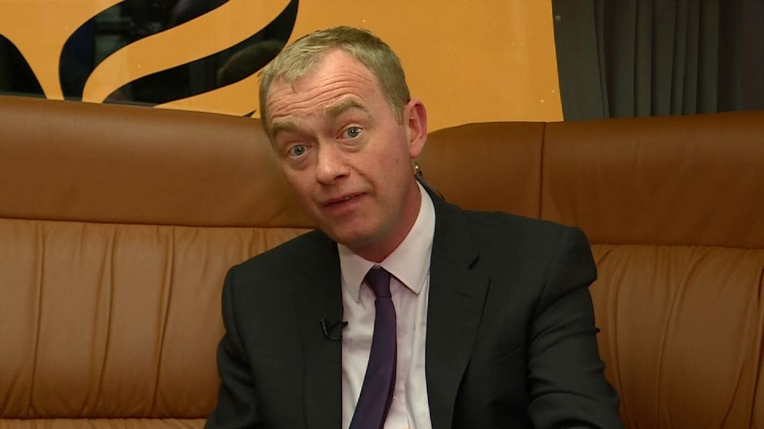 Tim Farron is convinced the Conservatives will win the General Election