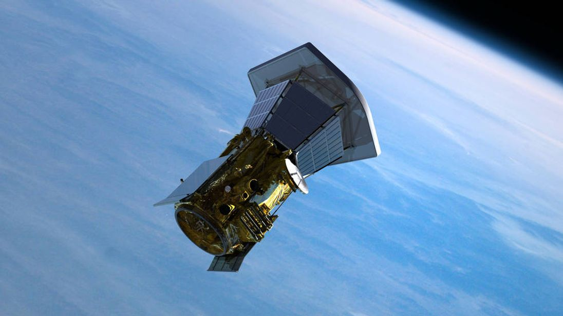Illustrations of the Solar Probe Plus spacecraft leaving Earth. Pic: JHU/APL