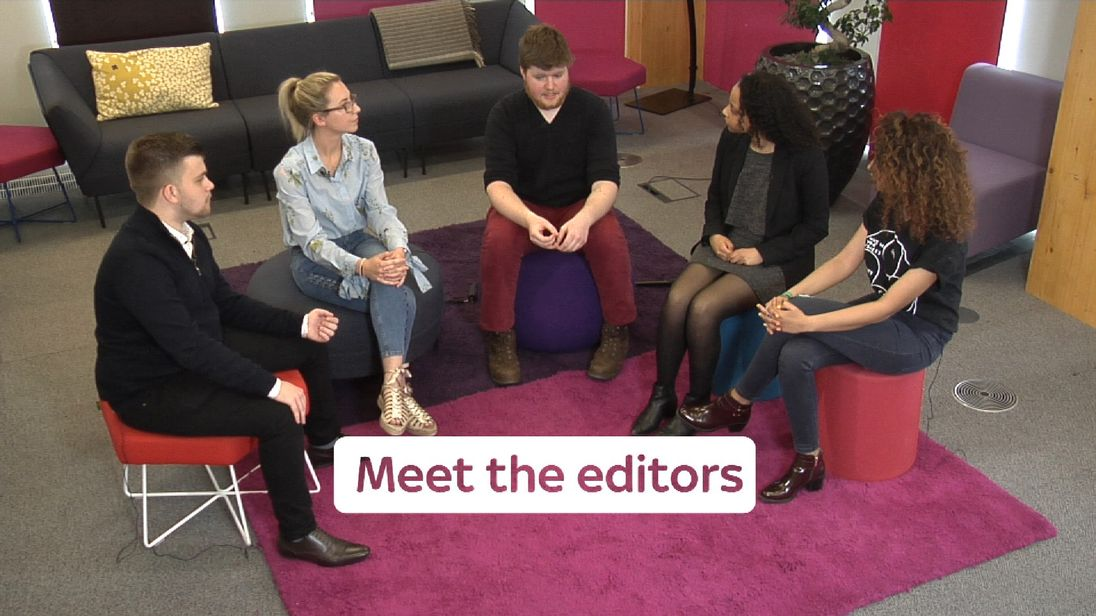 The young voters who will be guest editing some of Sky News' political coverage
