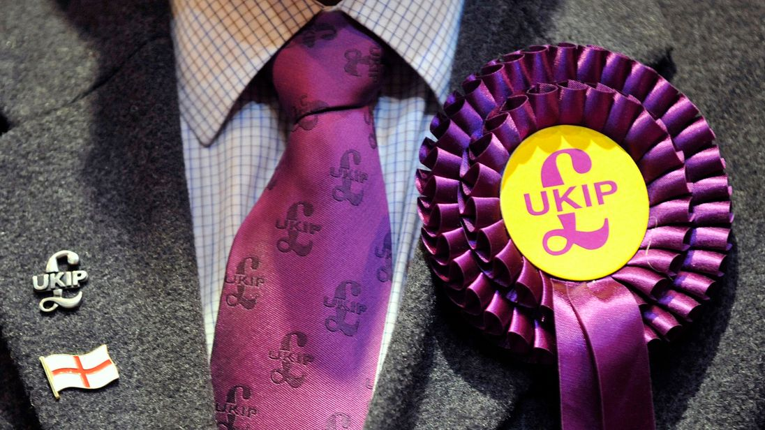 UKIP supporter. Pic: File