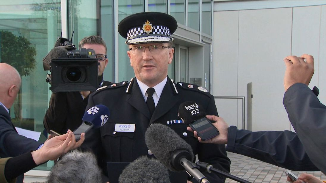 Ch Const Ian Hopkins confirms children among the dead at arena blast