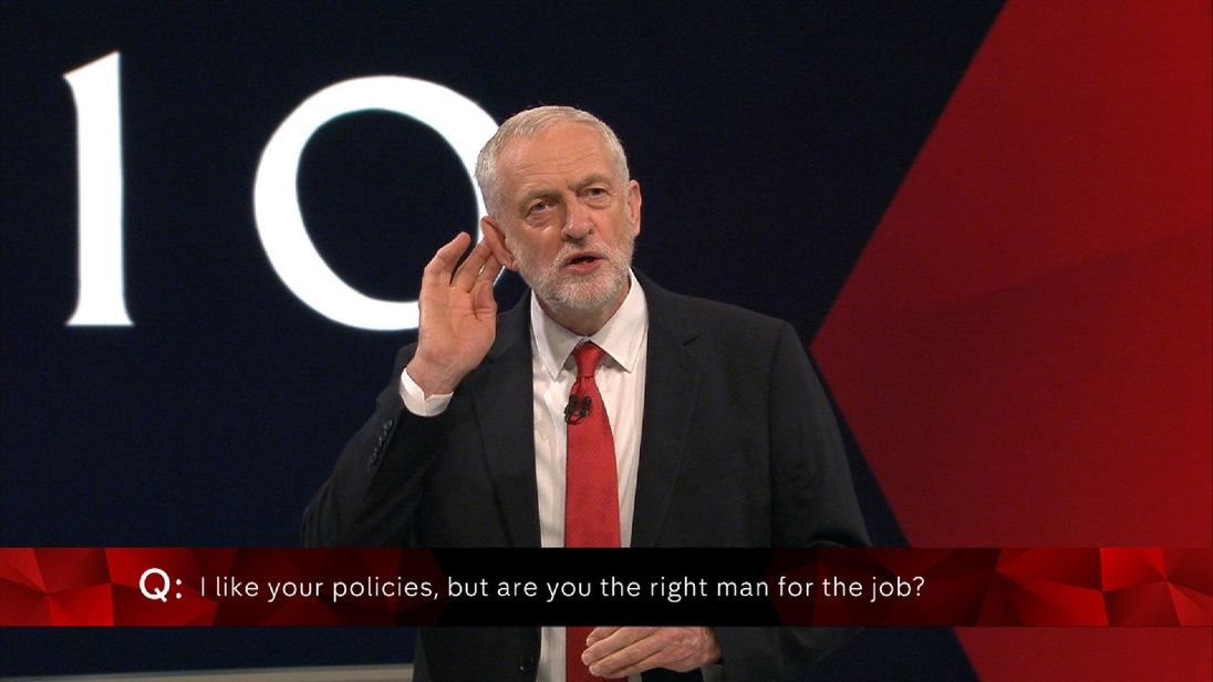 Jeremy Corbyn says leadership is about listening