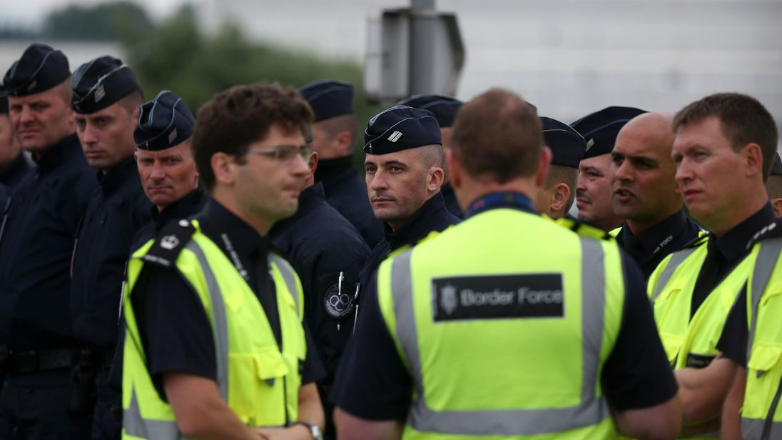 The deal allows Border Force officials to work alongside the French in Calais
