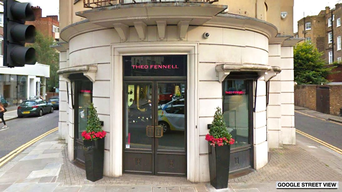 Theo Fennell, Fulham Road, London