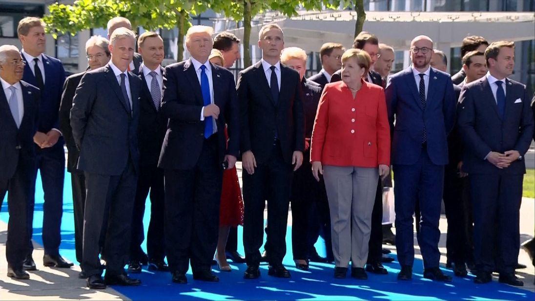 Trump wants NATO to unite against terrorists