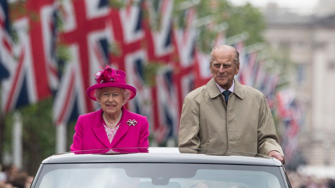 The Queen and Prince Philip in 2016