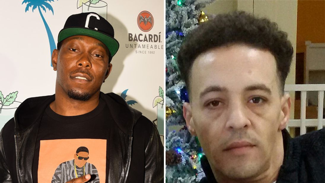 Rapper Dizzie Rascal and murder victim Brenton Roper