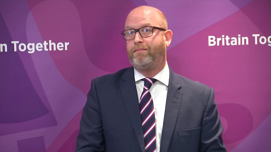 Paul Nuttall launches the UKIP manifesto