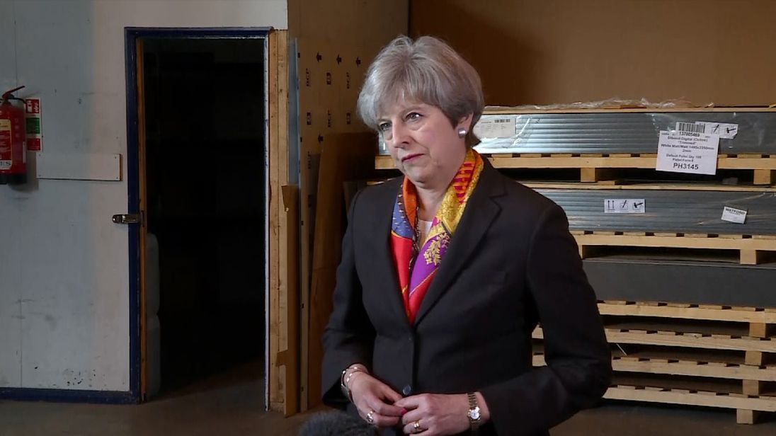 Theresa May reflects on local election results