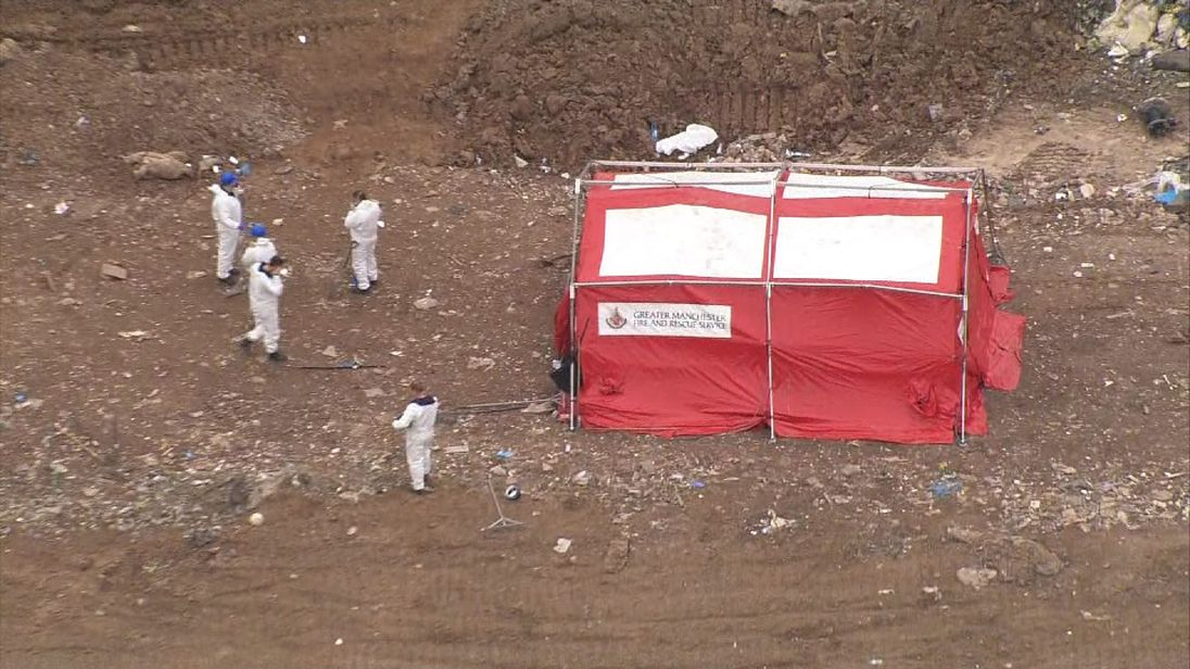 Forensic search underway at Pilsworth landfill site in connection with Manchester terror attack