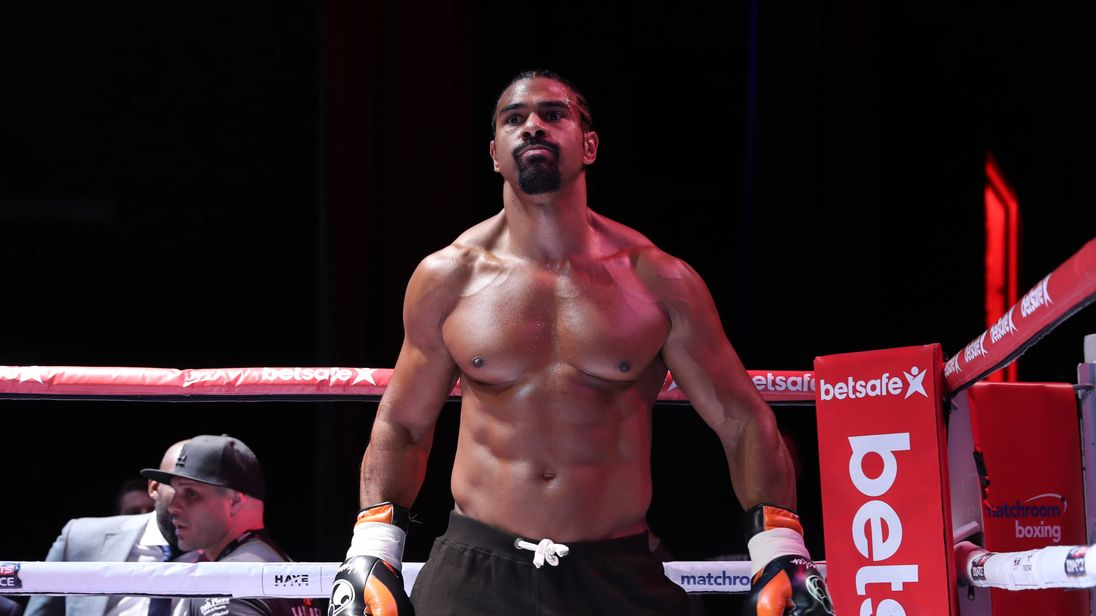 david haye next fight