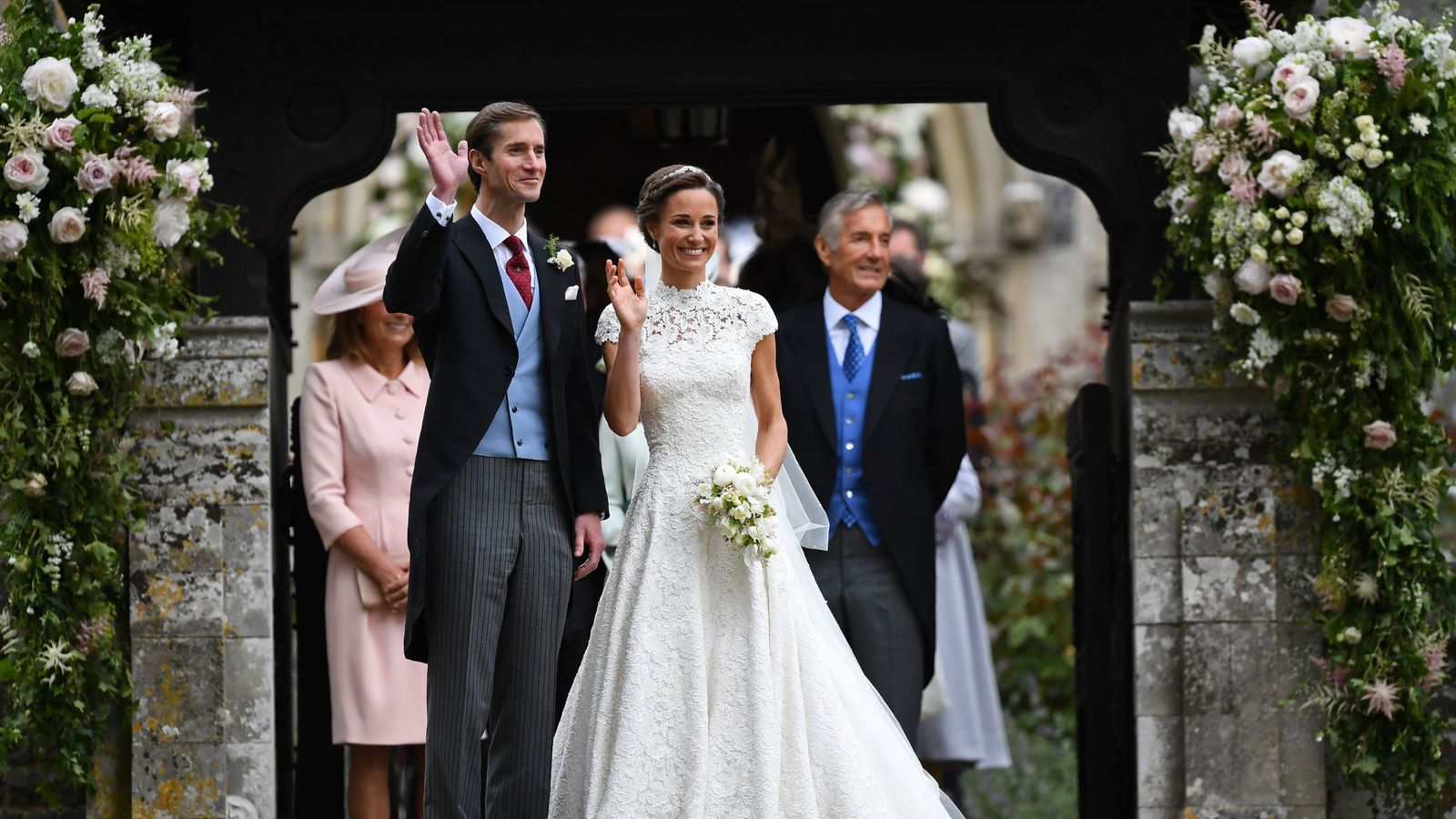 Bucklebury Middleton House Unveiled Pippa Middleton Ties The Knot In Style
