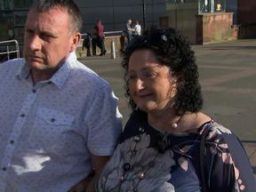 Maureen and Andrew Tweedale say the bombing will not stop them going out in Manchester