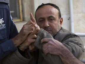 Palestinian Fatah leader Marwan Barghouti