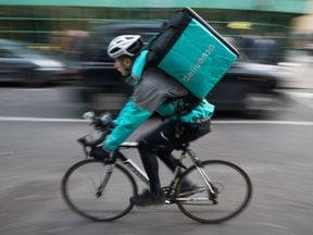Deliveroo handles takeaway orders for restaurant chains