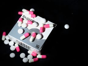 File photo dated 01/02/16 of ibuprofen tablets